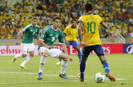 Brazil Soccer Confed Cup Brazil Mexico
