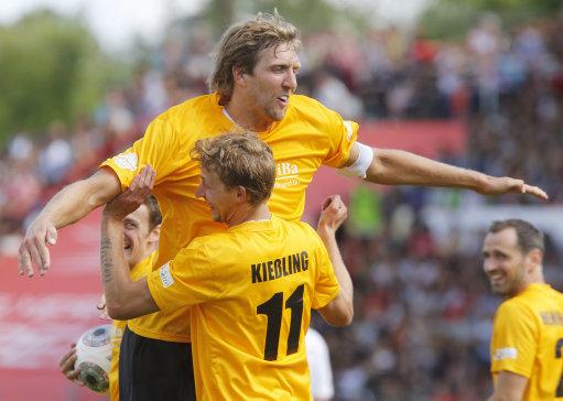 Germany Soccer Nowitzki