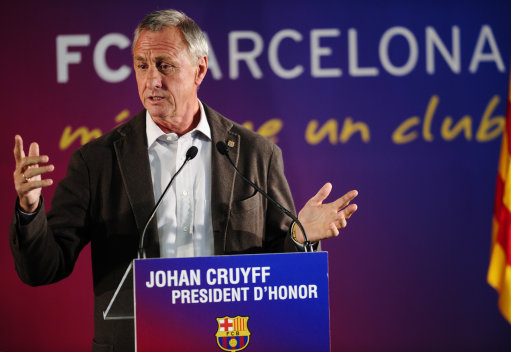 Spain Cruyff Honorary President