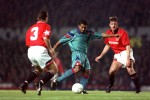 Romario lets rip against Man Utd in the Champions League, 1994