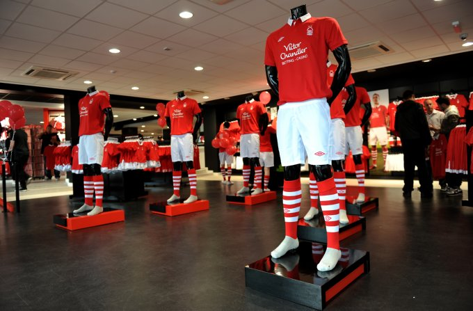 Soccer - npower Football League Championship - Nottingham Forest New Kit Launch - City Ground