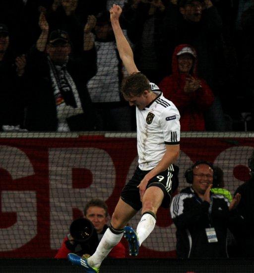 Soccer - UEFA Euro 2012 - Qualifying - Group A - Germany v Belgium - ESPRIT Arena