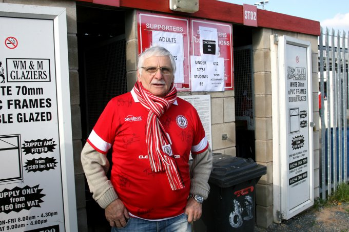Soccer - npower Football League Two - Accrington Stanley v Swindon Town - The Crown Ground