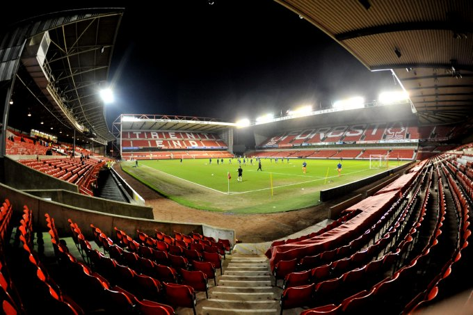 Soccer - FA Youth Cup - Sixth Round - Nottingham Forest v Bolton Wanderers - The City Ground