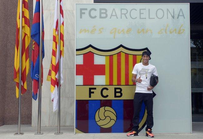 Spain Soccer Barcelona Neymar