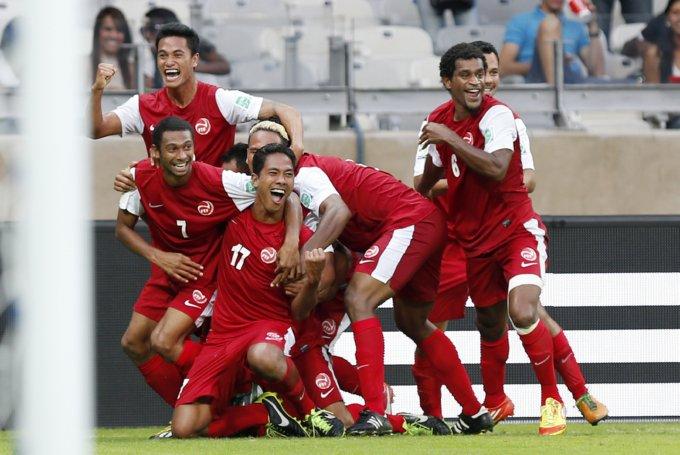 Brazil Soccer Confed Cup Tahiti Nigeria