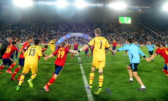 Soccer - UEFA European Under 21 Championship 2013 - Final - Italy v Spain - Teddy Stadium