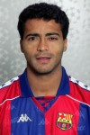Looking battered (in both senses of the word), Romario poses for his Champions League press shot at Barcelona, 1993