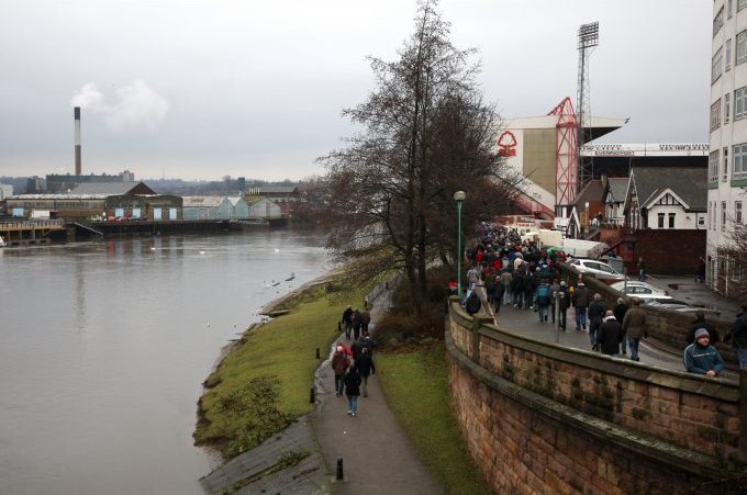 Soccer - Coca-Cola Football League Championship - Nottingham Forest v Reading - City Ground