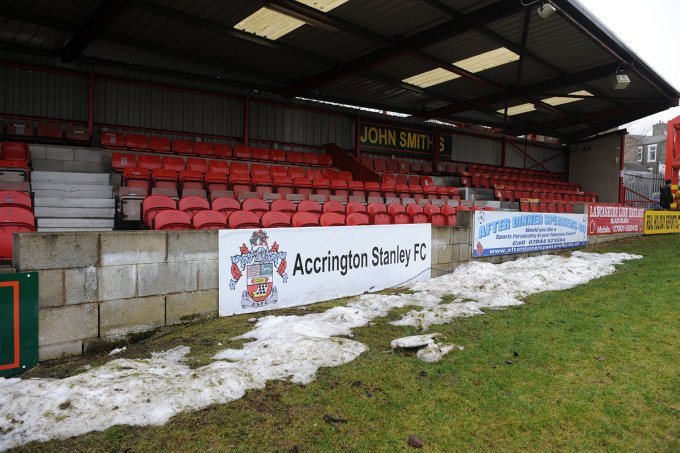 Soccer - FA Cup - Fourth Round - Accrington Stanley v Fulham - Crown Ground