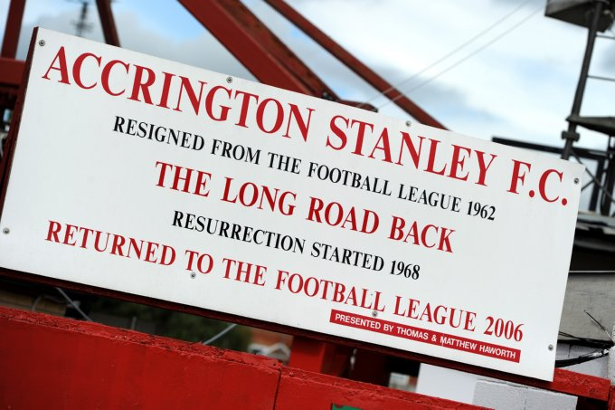 Soccer - npower Football League Two - Accrington Stanley v Macclesfield Town - The Crown Ground