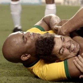 UFC Hardnut Anderson Silva Stars In Brilliant 'What If?' Caper About Childhood Dream Of Playing For Brazil (Video)