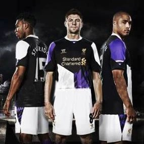 Liverpool's New Purple 2013/14 Third Kit Is Just As Gruesome As Their New Away Strip (Leaked Photo)