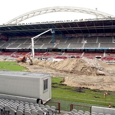 The Demolition Of San Mames (Photos) – Athletic Club Bilbao