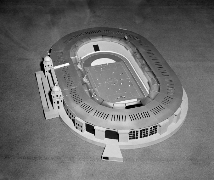 Soccer - Wembley Stadium Model