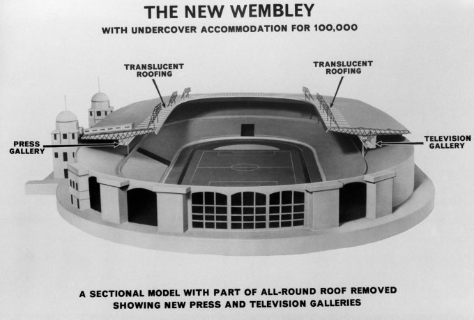 Soccer - Wembley Stadium