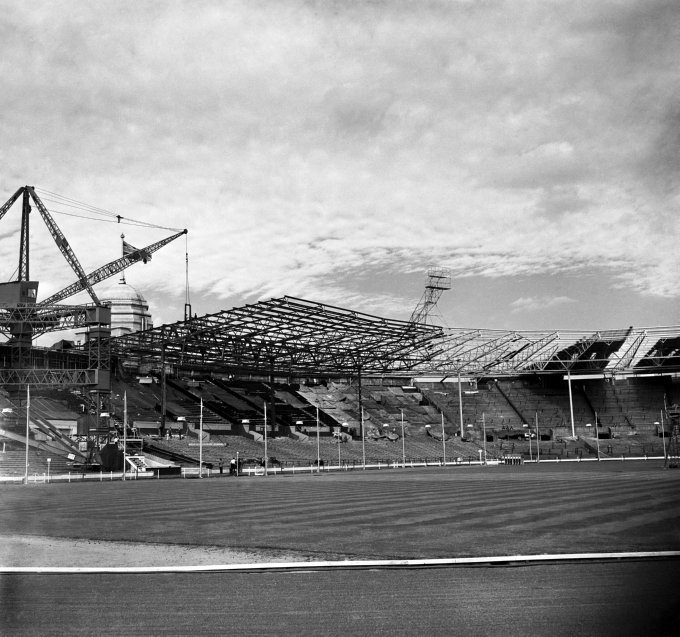 Soccer - New Roof - Wembley Stadium