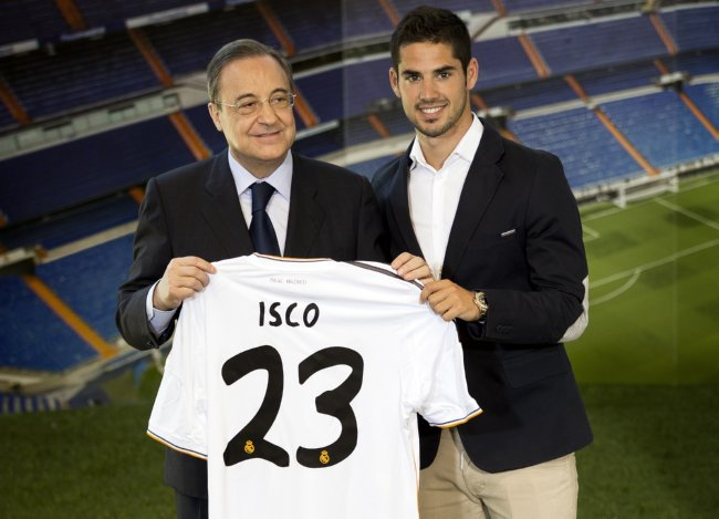 Spain Soccer Real Madrid Isco