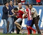Spain Soccer Atletico de Madrid Villa