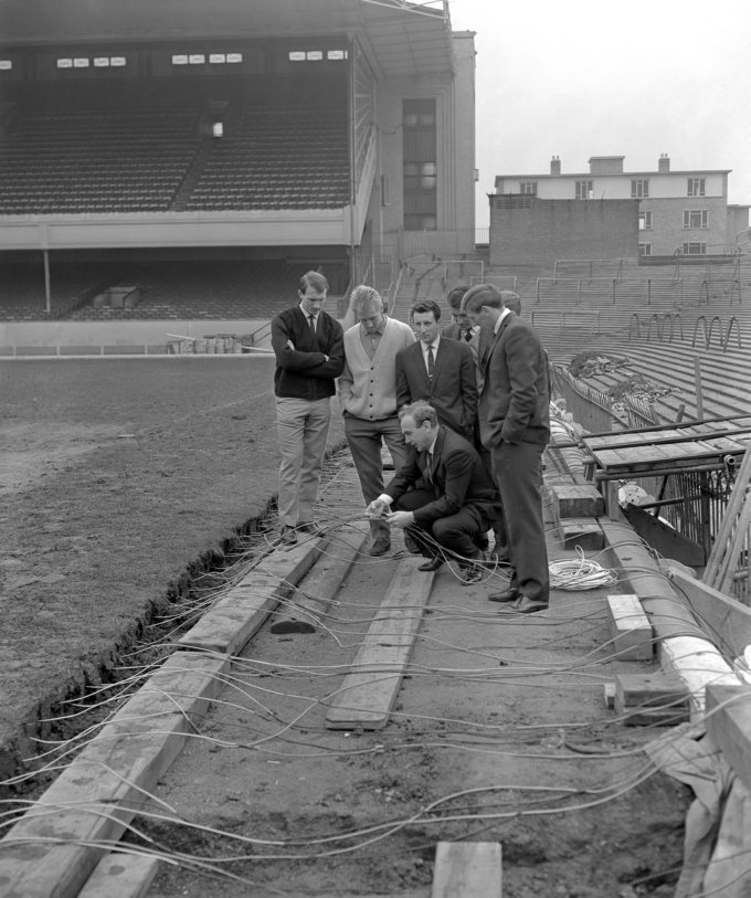 Soccer - Installation of Undersoil Heating at Highbury