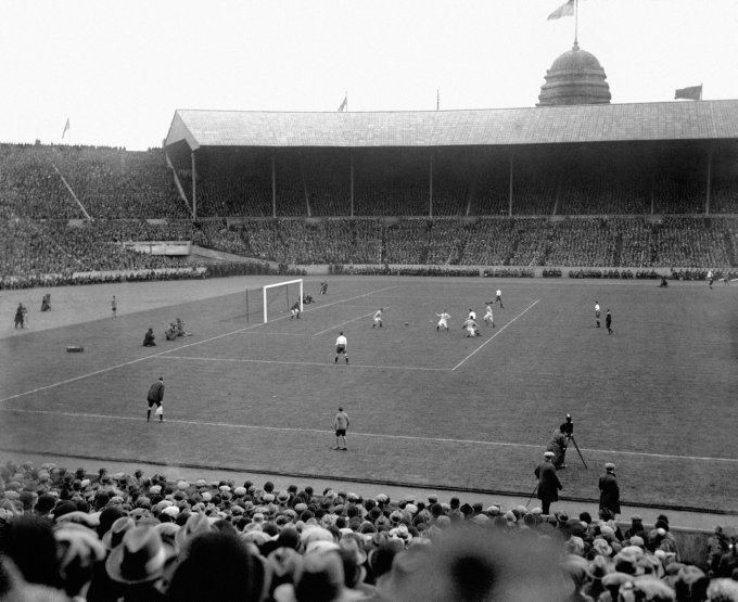 Soccer - FA Cup - Final - Bolton Wanderers v Manchester City - Wembley Stadium - 1926