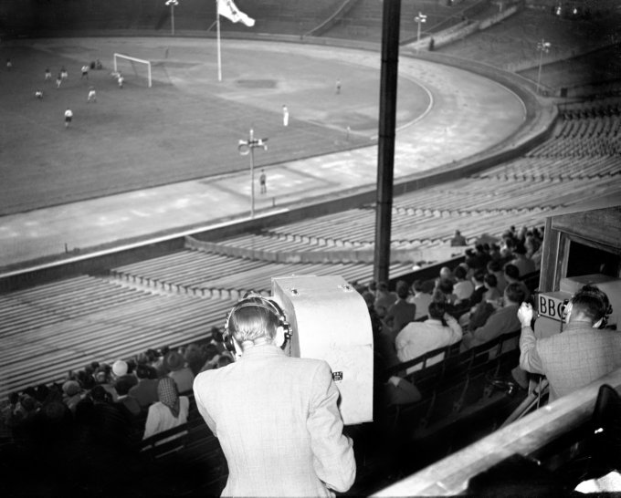 Soccer - Summer Olympic Games 1948 - Final - Yugoslavia v Sweden - London - Wembley Stadium