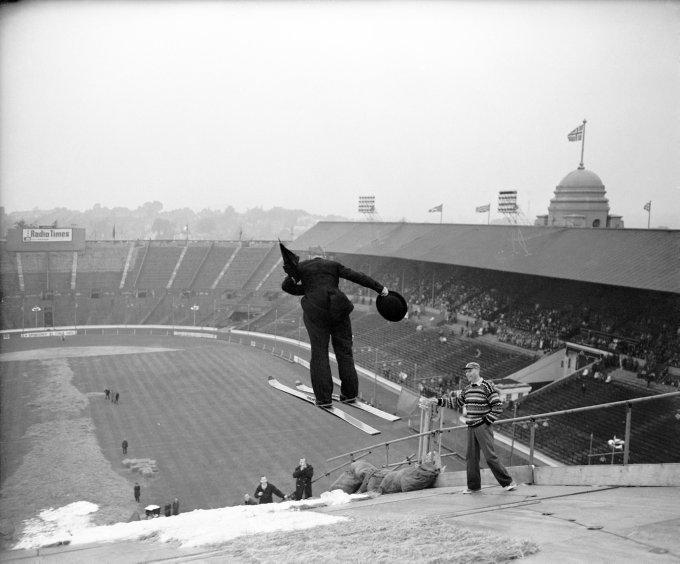 Ski Jumping - Wembley