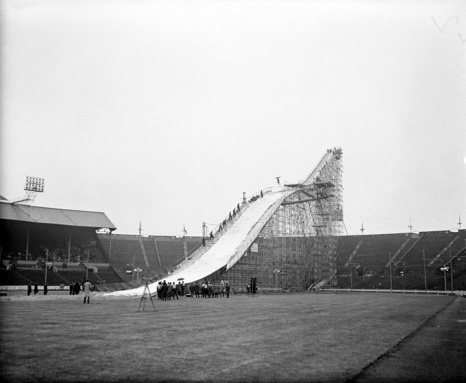 Ski Jumping - Wembley
