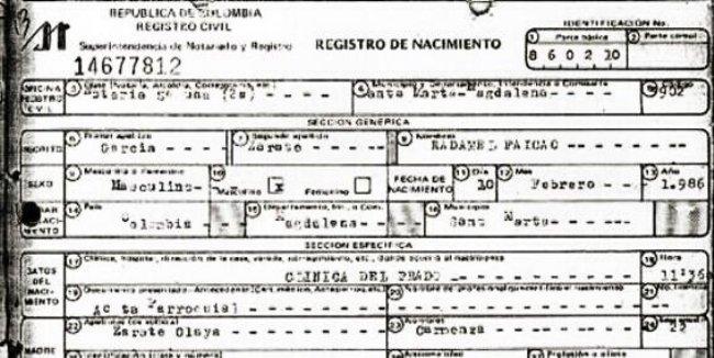 falcao-birth
