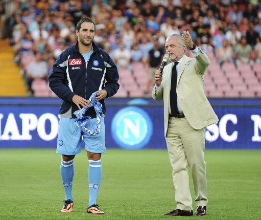 Italy Soccer Napoli Higuain