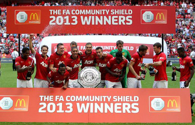 Soccer - FA Community Shield 2013 - Manchester United v Wigan Athletic - Wembley Stadium