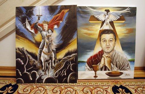 ROMANIA NATIONALIST POLITICIAN