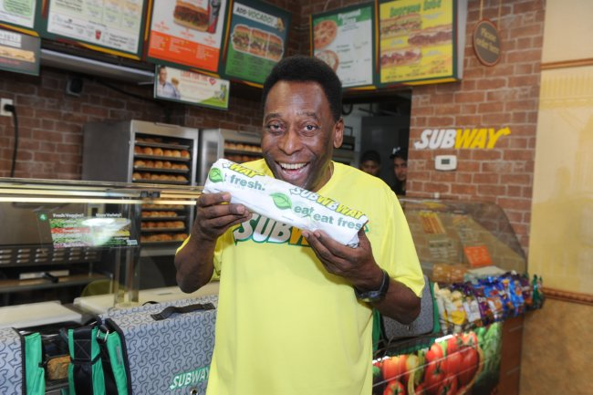 Subway Global Ambassador Pele
