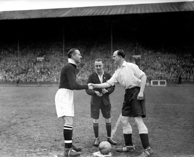 World War Two - UK & Commonwealth - Home Front - Soccer - Wartime International - England v Scotland - Wembley - 1944