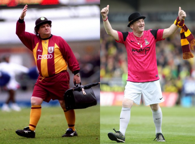 Bradford City Mascot Replaced For Not Being Portly