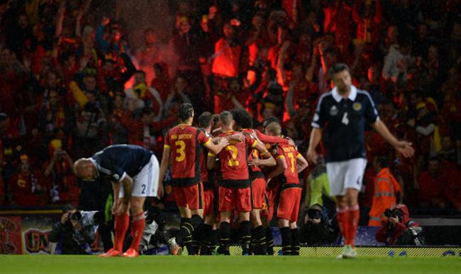 Soccer - 2014 World Cup Qualifier - Europe - Group A - Scotland v Belgium - Hampden Park