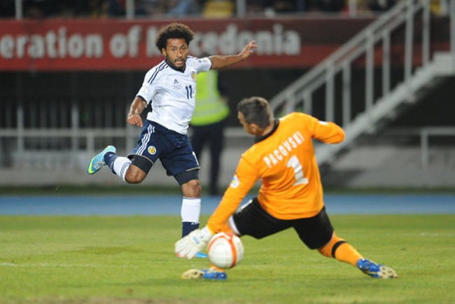 Soccer - FIFA World Cup Qualifying - Group A - Macedonia v Scotland - Phillip II Arena