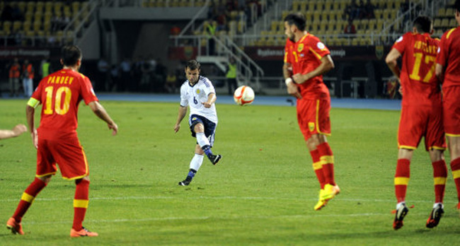 Macedonia Scotland WCup Soccer