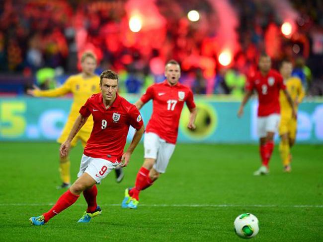 Soccer - FIFA World Cup Qualifying - Group H - Ukraine v England - Olympic Stadium