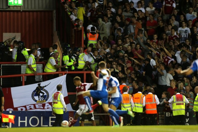 Soccer - Johnstones Paint Trophy - Bristol City v Bristol Rovers - Ashton Gate