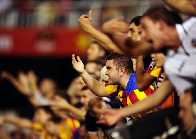 Soccer - UEFA Europa League - Group A - Valencia v Swansea City - Mestalla