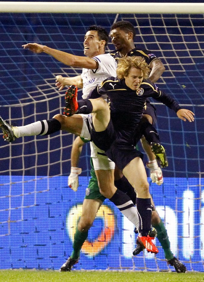 Croatia Soccer Europa League