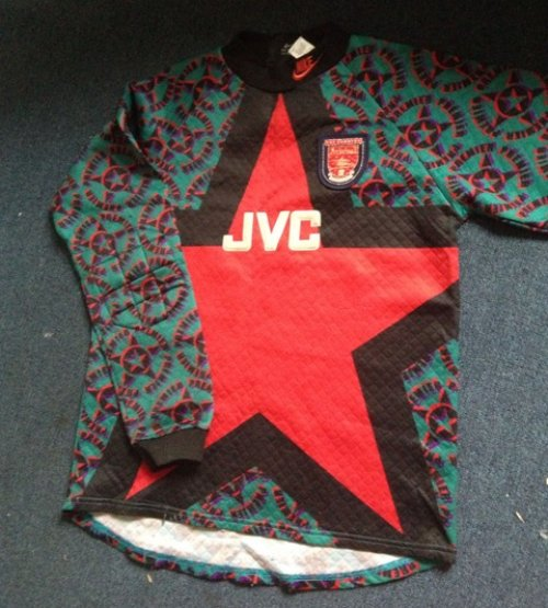 new concept 49cf8 962f2 Shit Football Kits: Arsenal's Hideously Gaudy (And Quilted ...