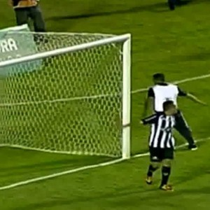 Brazilian Team's Masseur Sneaks Onto Pitch, Denies Certain Winning Goal With Brilliant Double Save, Bloody Legs It! (Video)