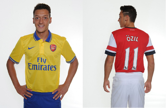 Arsenals New 42m Man Mesut Zil Does First Gunners Photoshoot