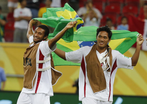 Brazil Soccer Confed Cup Uruguay Tahiti