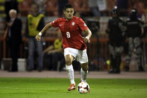 Serbia Croatia WCup Soccer