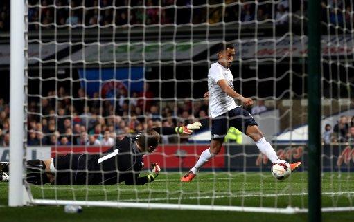 Soccer - UEFA Euro 2015 Under 21's - Qualifying - Pool One - England U21's v Lithuania U21's - Portman Road