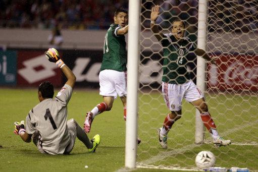 Costa Rica Mexico Soccer Wcup