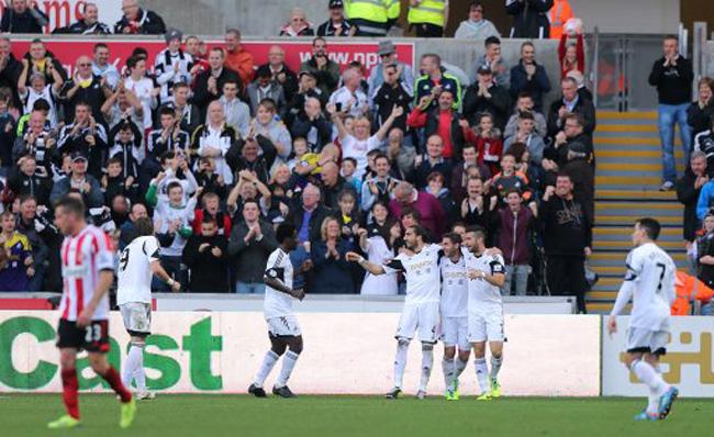 Soccer - Barclays Premier League - Swansea City v Sunderland - Liberty Stadium